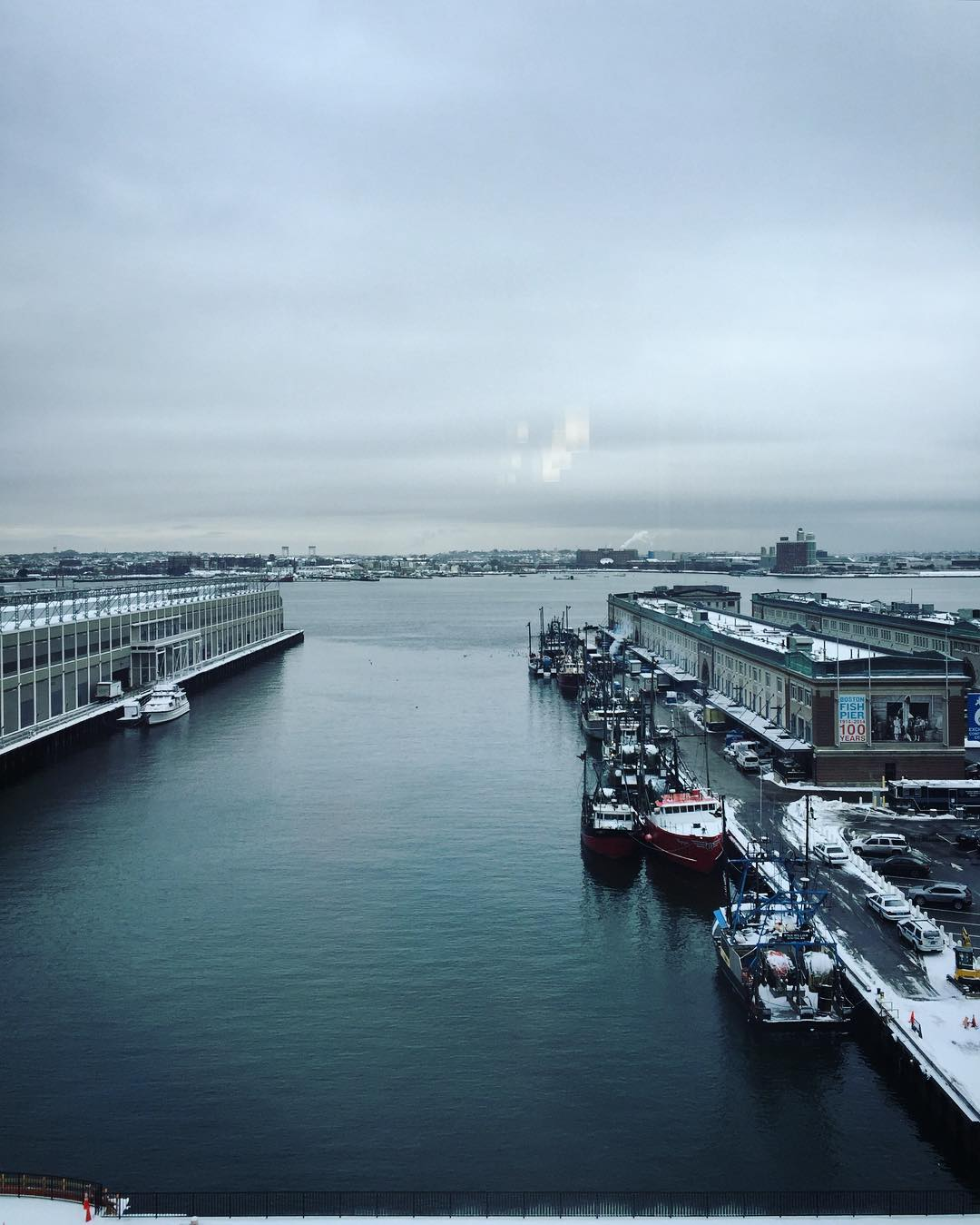 Winter at the Seaport