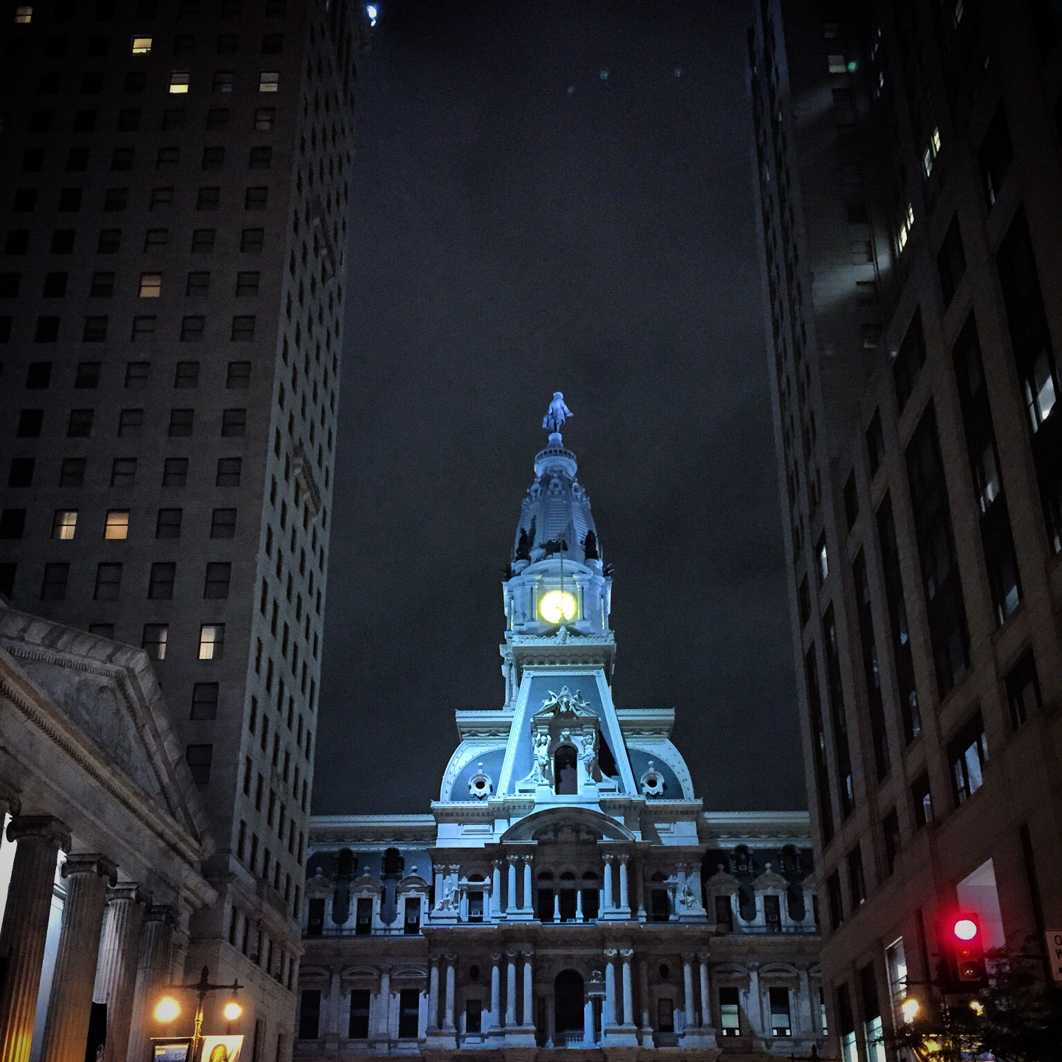 William Penn in Blue