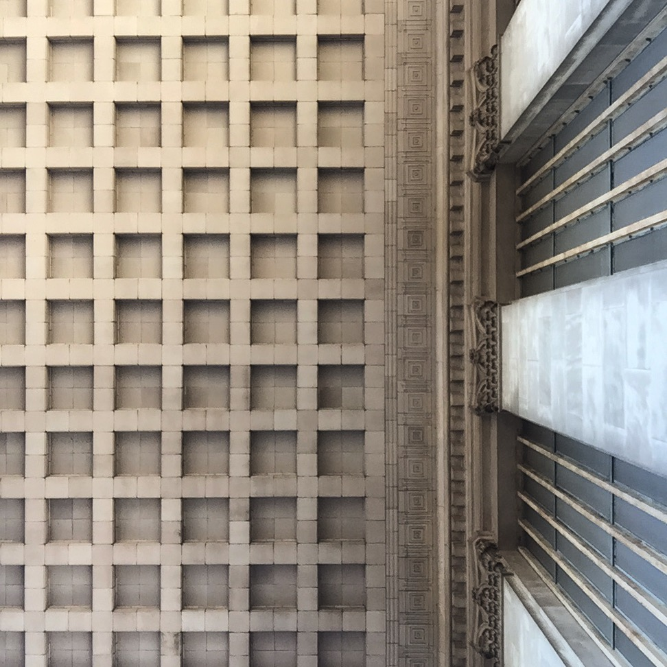 Grid Morning, 30th Street Station